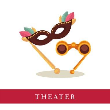 Theatre opera glasses