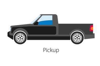 Classical pickup car