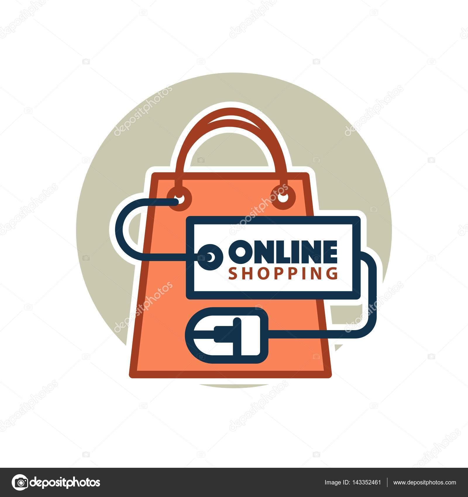 Online Shopping Web Icon Stock Vector Sonulkaster 143352461