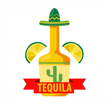 Mexican tequila bar icon