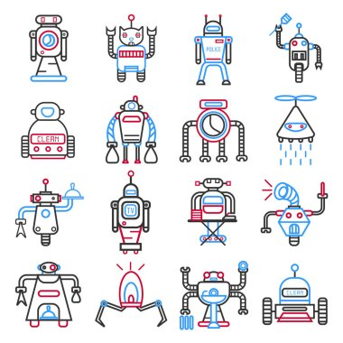 Android robots set