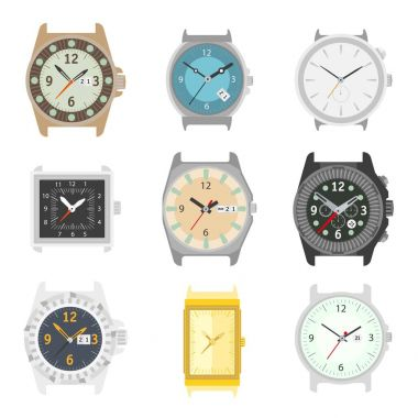 Wrist watches without strap