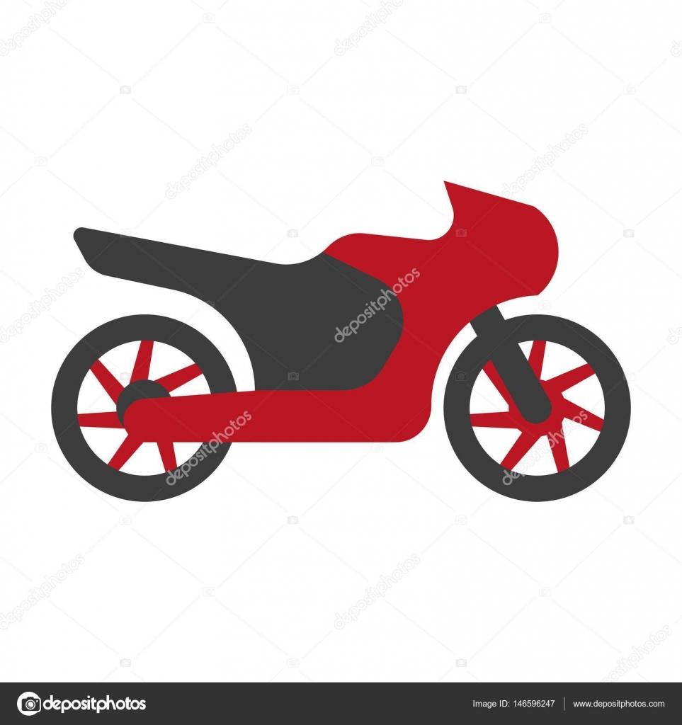 Kawasaki Typ Motorrad Logo Silhouette Flach Zeichen Isoliert Auf Weiss Vektor Von Sonulkaster