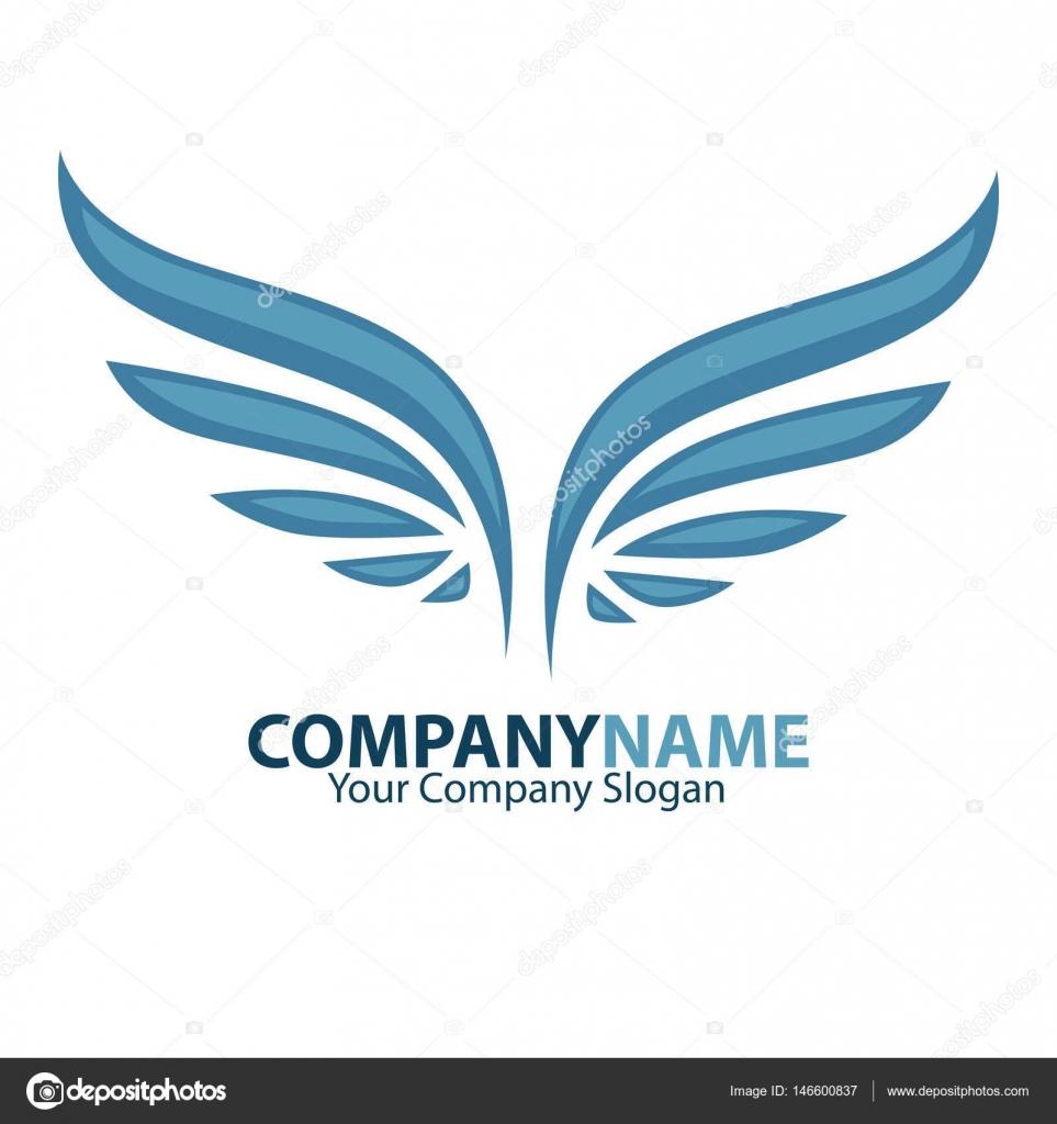 Company name emblem stock vector sonulkaster 146600837 company name emblem with angel wings web banner on white background vector by sonulkaster buycottarizona