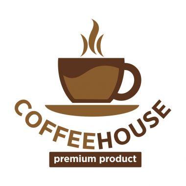 Coffeehouse logo template.