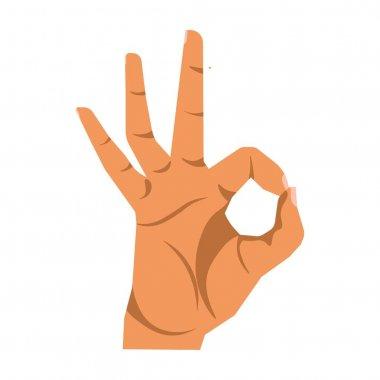 Okay hand sign
