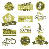 Photo set of icons for healthy dietetic food