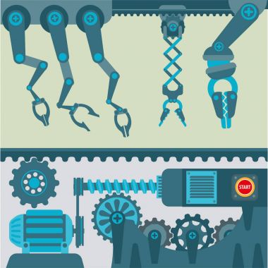 Machinery mechanisms and parts