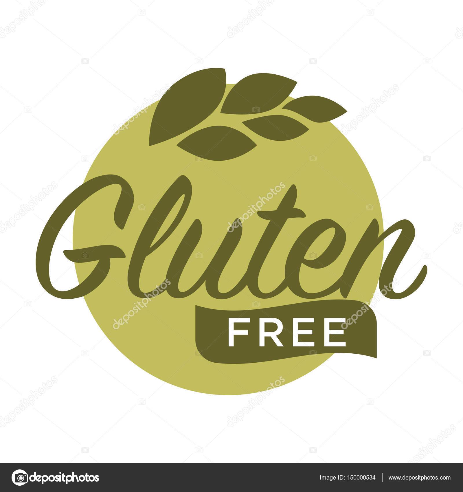 gl250ten no logotipo de gr227os de cereais � vetores de stock