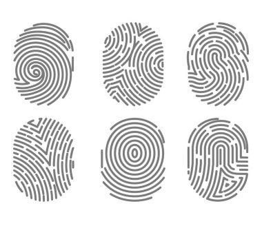 Set of fingerprint types