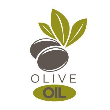Olive oil extra virgin logotype
