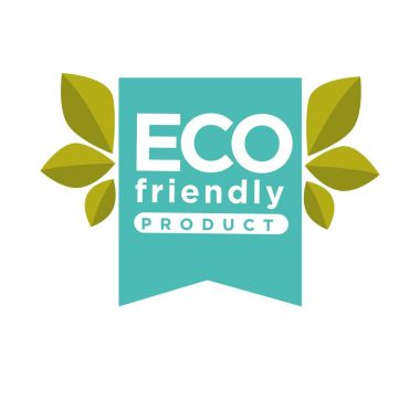 Eco friendly product label