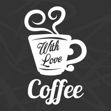 Coffee cup steam icon