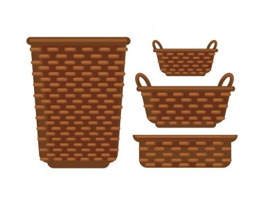 Different sized baskets