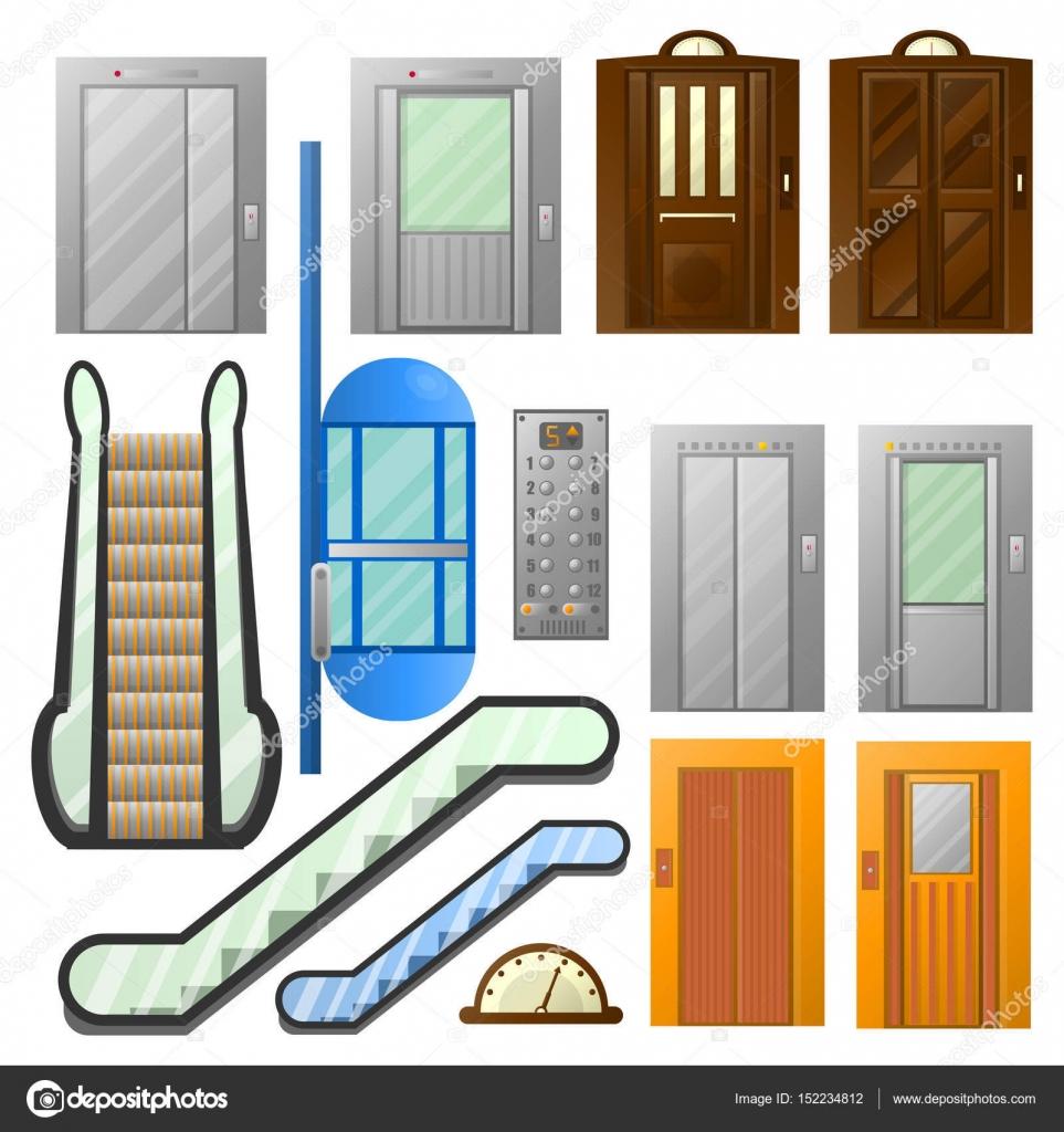 Elevadores o escaleras el ctricas ascensores conjunto de for Escaleras dielectricas precios