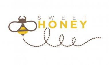 Organic sweet honey logo design