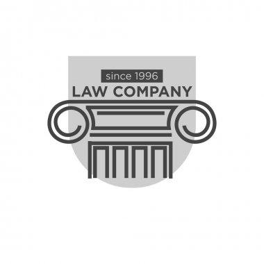 Law company since 1996 logotype