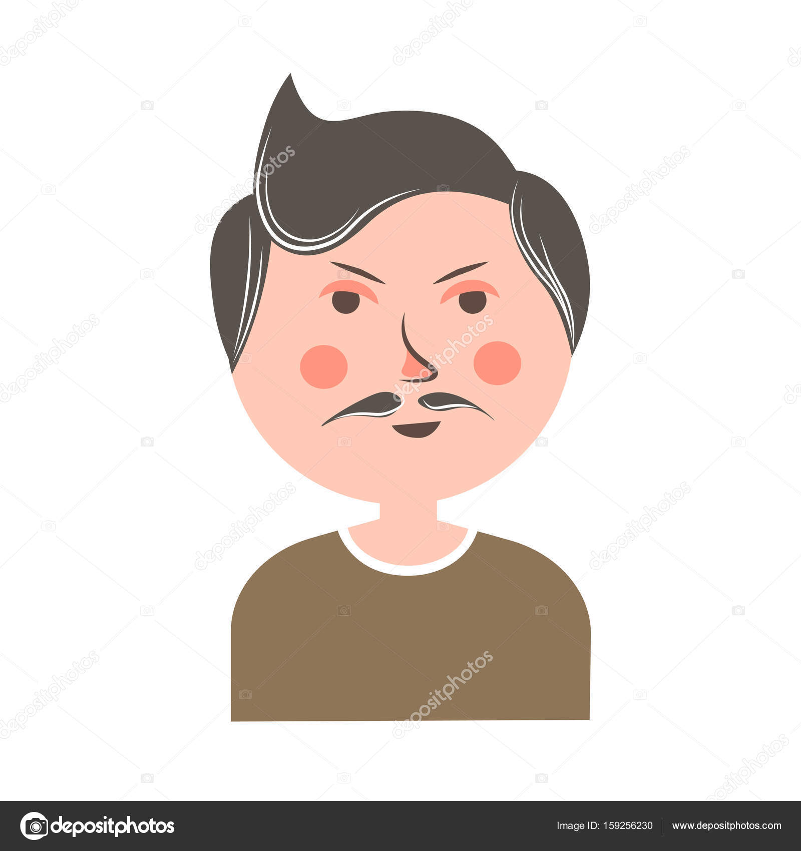 Cartoon Characters With Big Noses : Cartoon character with big nose and mustache fandifavi