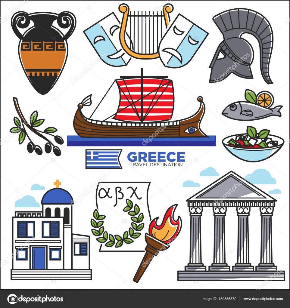 Картинки греции символы