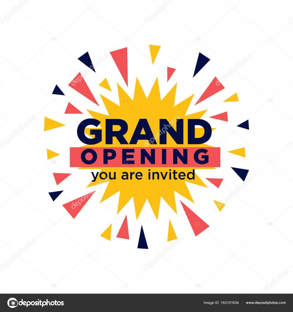 Grand opening invitation stock vector sonulkaster 163101634 grand opening invitation stock vector stopboris Image collections