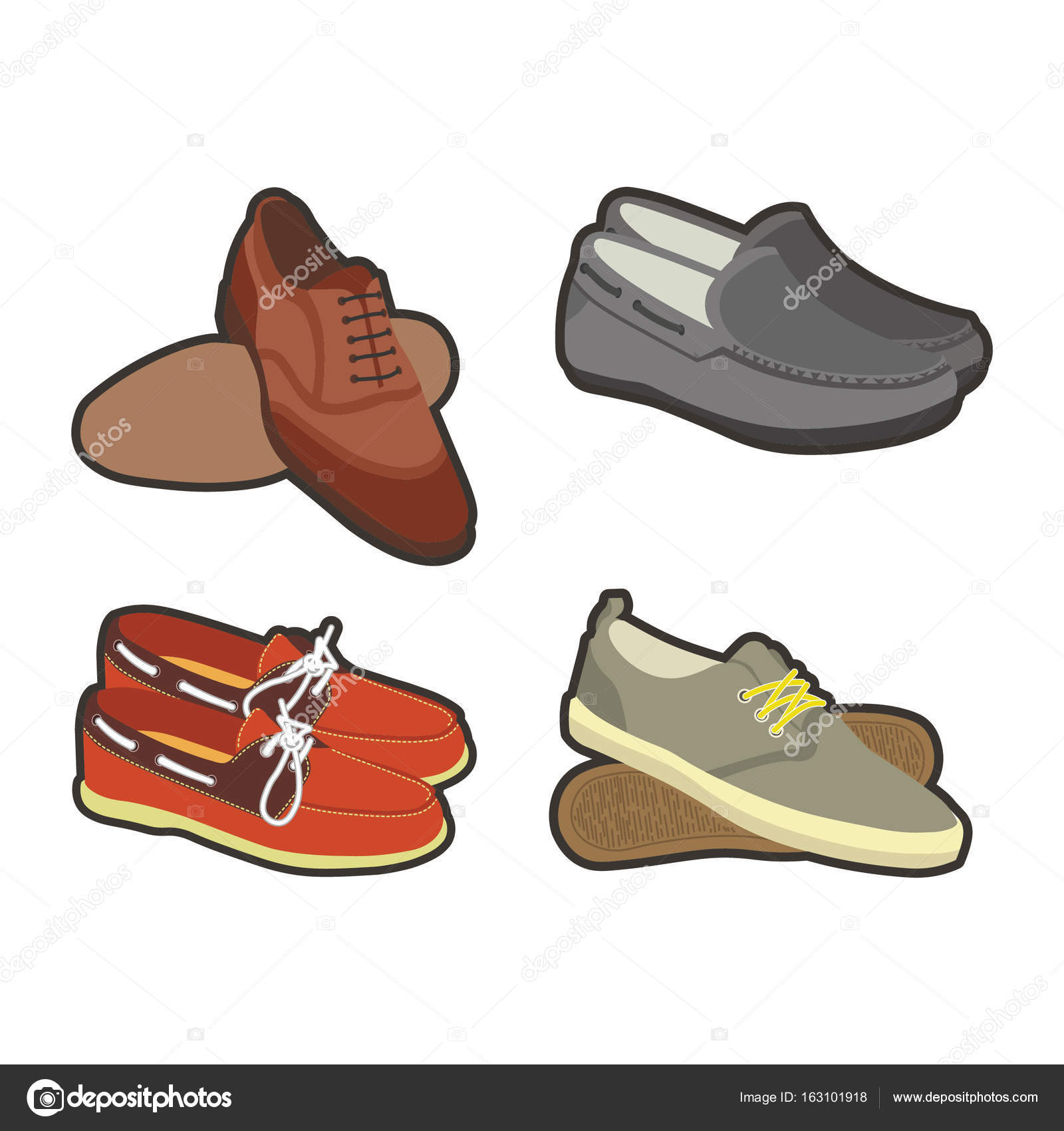 9652ee9d8505 Pánská obuv ve sportu a klasické styly — Stock Vektor © Sonulkaster ...