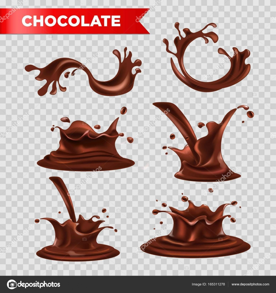 21+ Transparent Chocolate Splash Vector