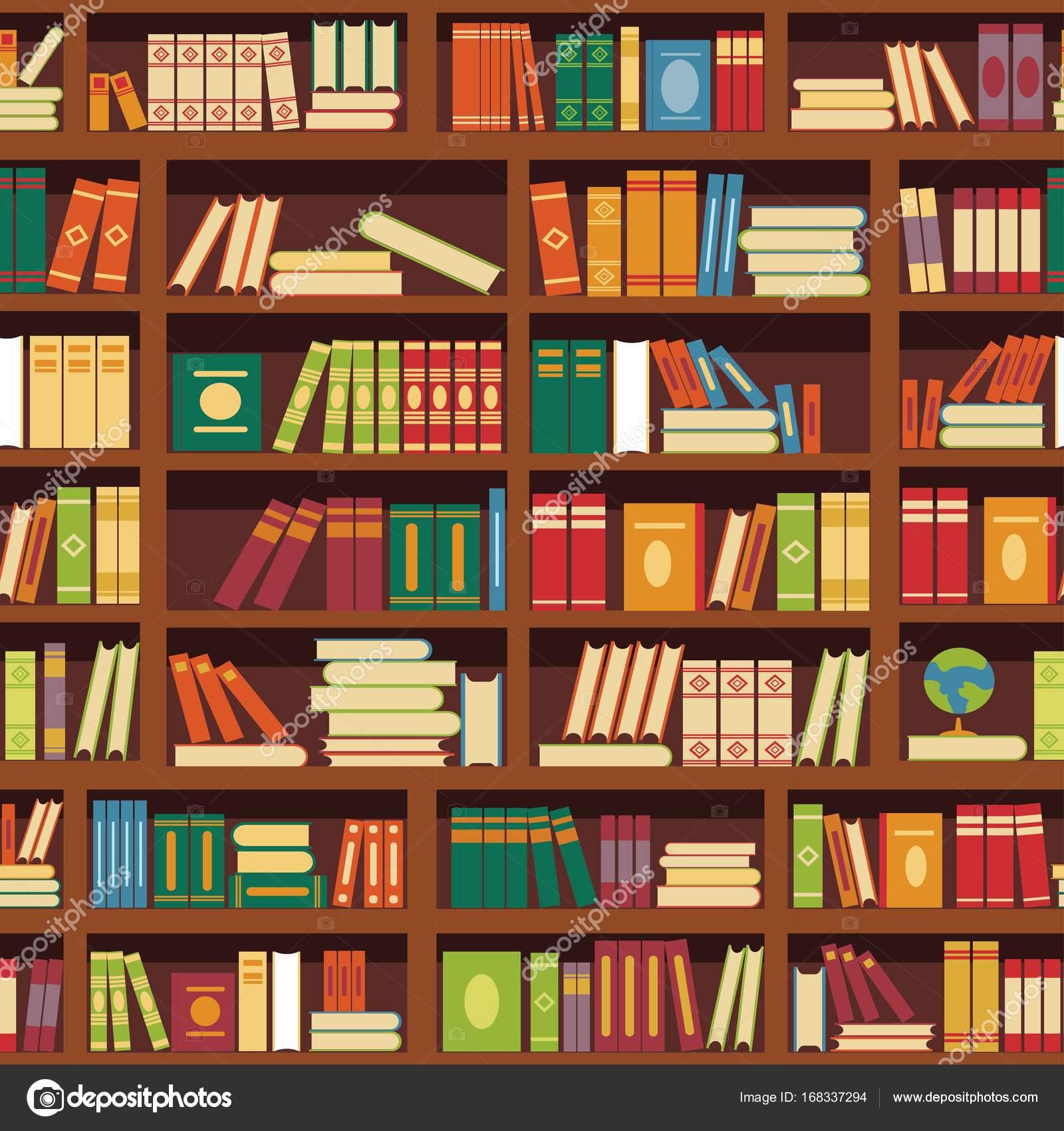 Etagere De Livre De Bibliotheque Image Vectorielle