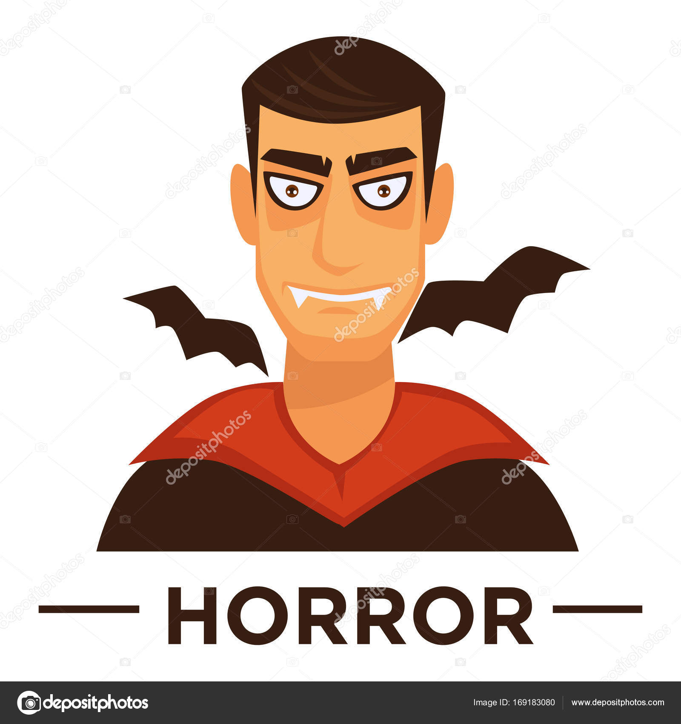 Movie horror genre icon stock vector sonulkaster 169183080 movie horror genre icon with vampire symbols for cinema or channel movie genre tag vector by sonulkaster biocorpaavc