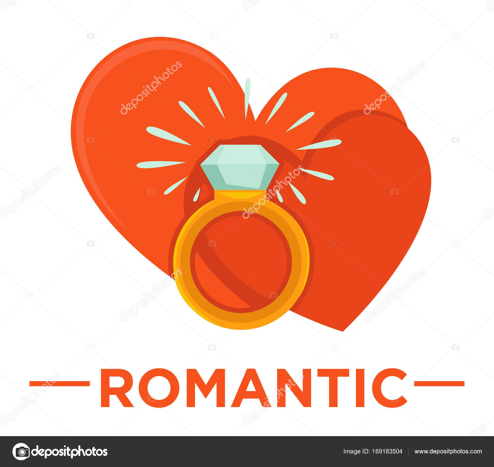 Movie romantic genre icon stock vector sonulkaster 169183504 movie romantic genre icon with red hearts and ring with diamond symbols for cinema or channel movie genre tag vector by sonulkaster biocorpaavc