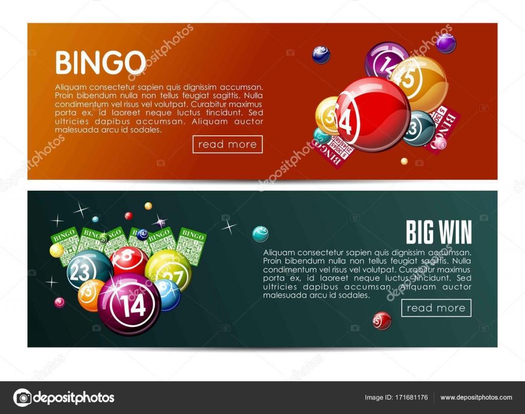 Bingo web de lotería lotto sistema de plantillas de banners ...