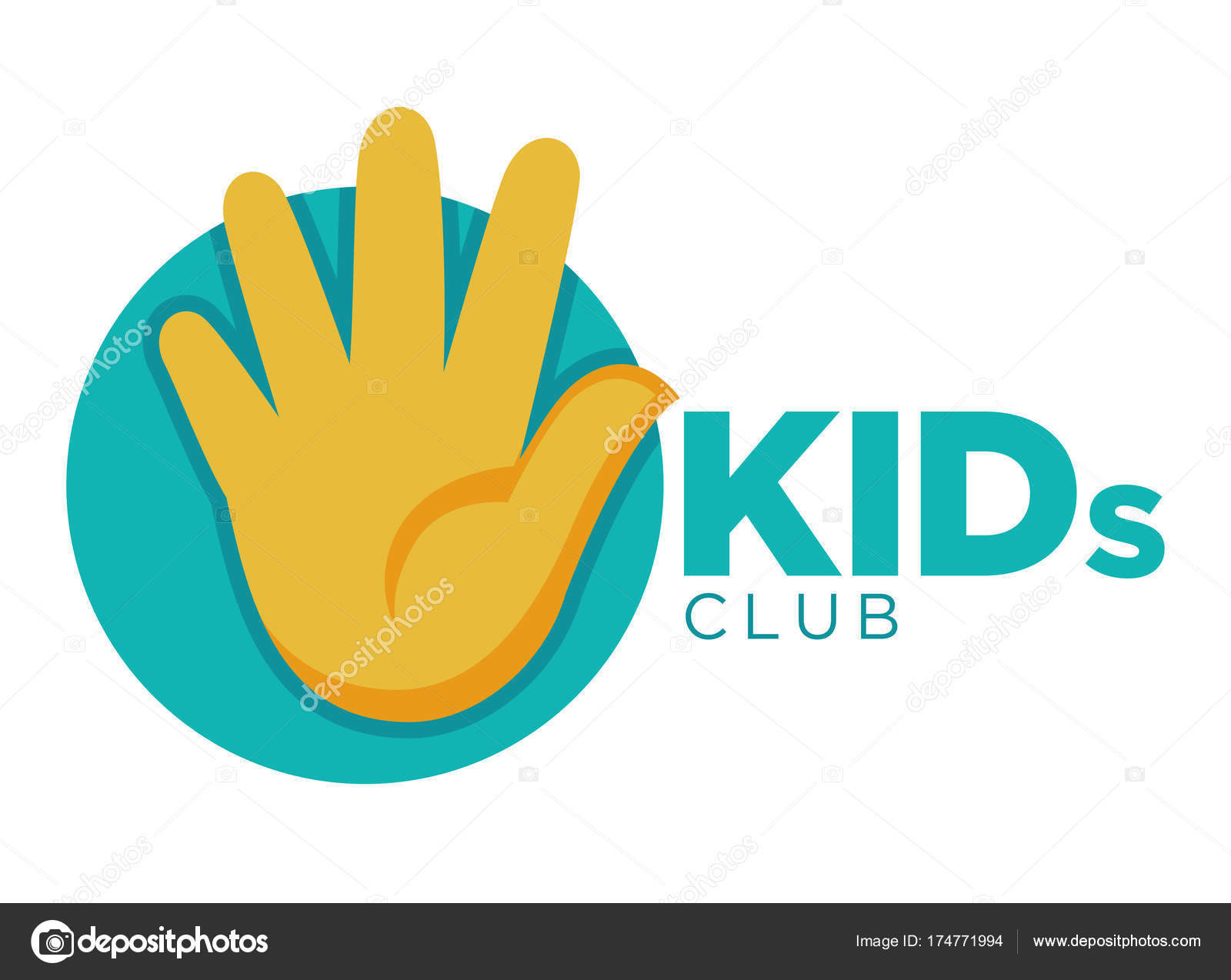 child hand template