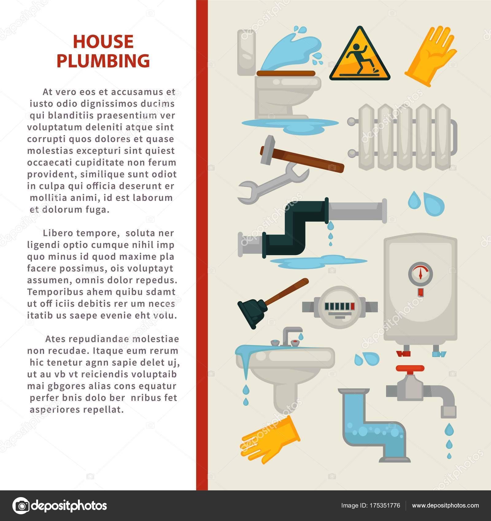 Probleme Humidite Salle De Bain ~ Affiche Des Informations Plomberie House Pour R Paration Fuites