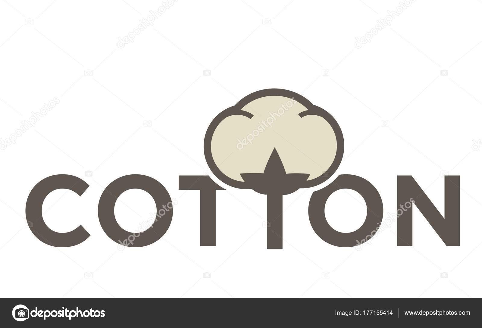 Baumwolle Etiketten Oder Logo Für Reine 100 Natürlicher Baumwolle ...