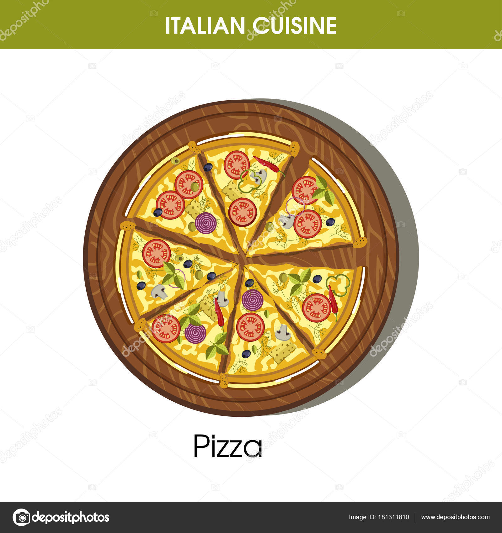 рецепты итальянской пиццы из пицерии