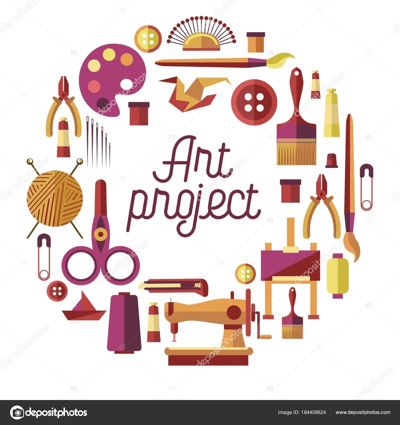 Art Project Handicraft Classes Poster Creative Craft Workshop Diy