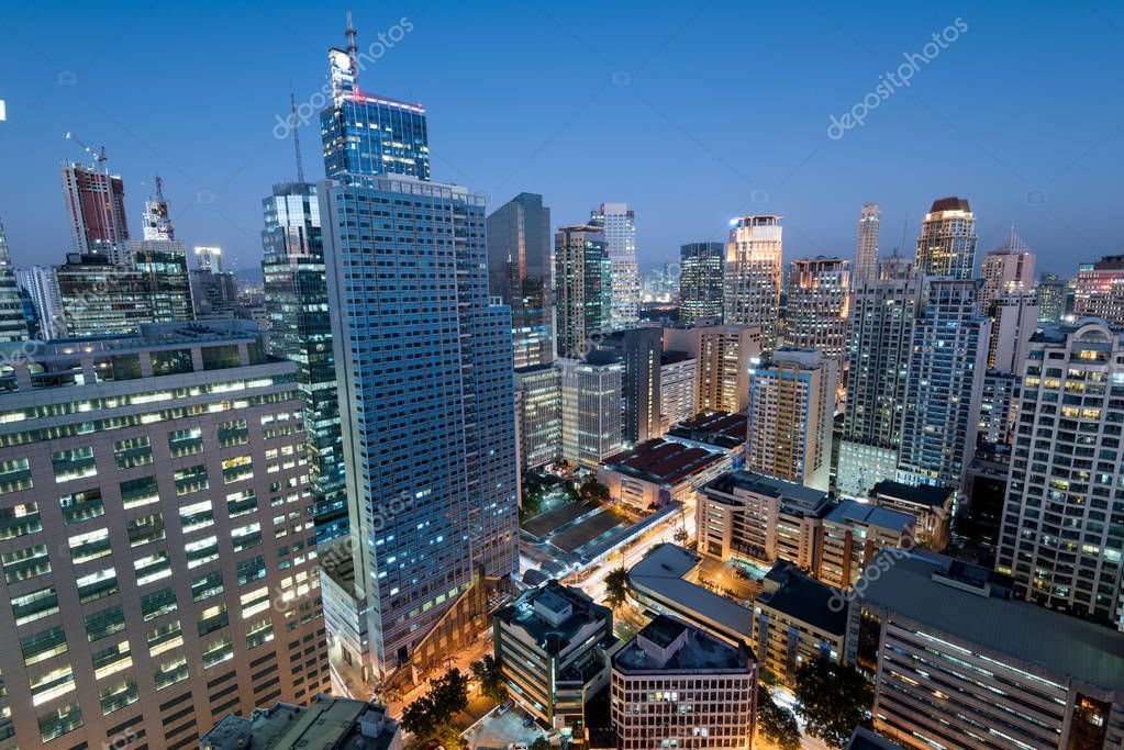 Makati skyline metro manila philippines stock photo fazon1 makati is a city in the philippines metro manila region and the countrys financial hub its known for the skyscrapers and shopping malls sciox Image collections