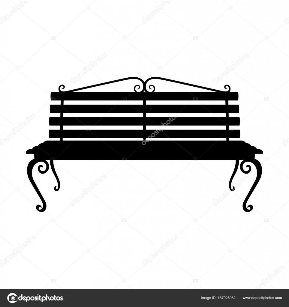 Prime Park Bench Shade Picture Stock Vector C Den Barbulat Creativecarmelina Interior Chair Design Creativecarmelinacom