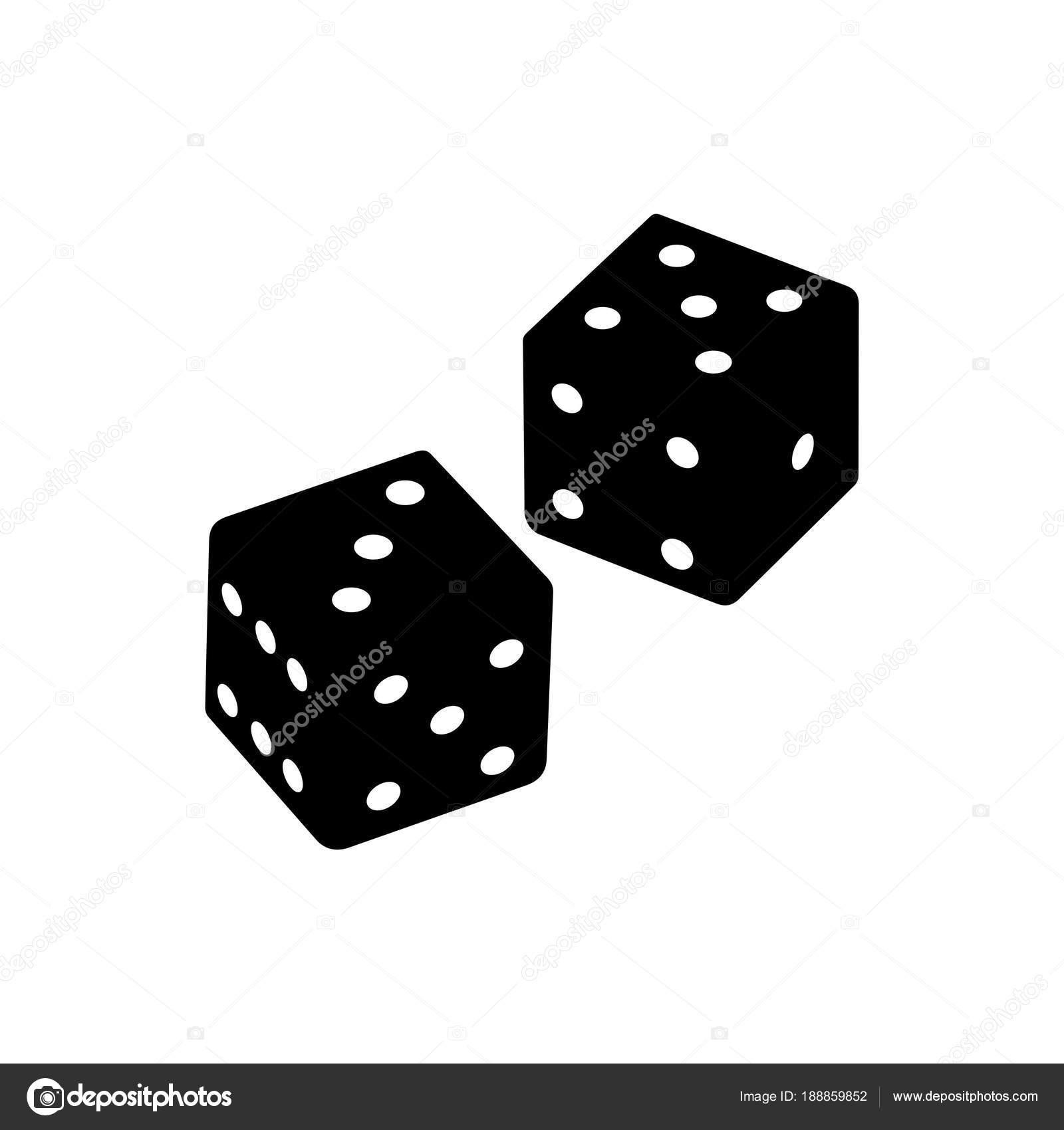 loaded dice devil bones stock vector den barbulat 188859852