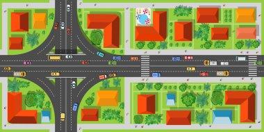 Highway junction roads