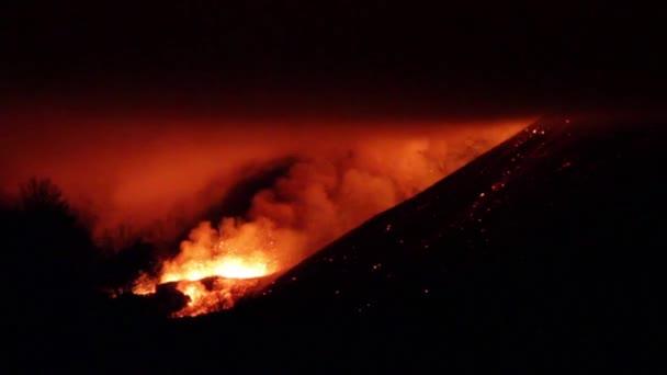 Eruzione del vulcano Etna