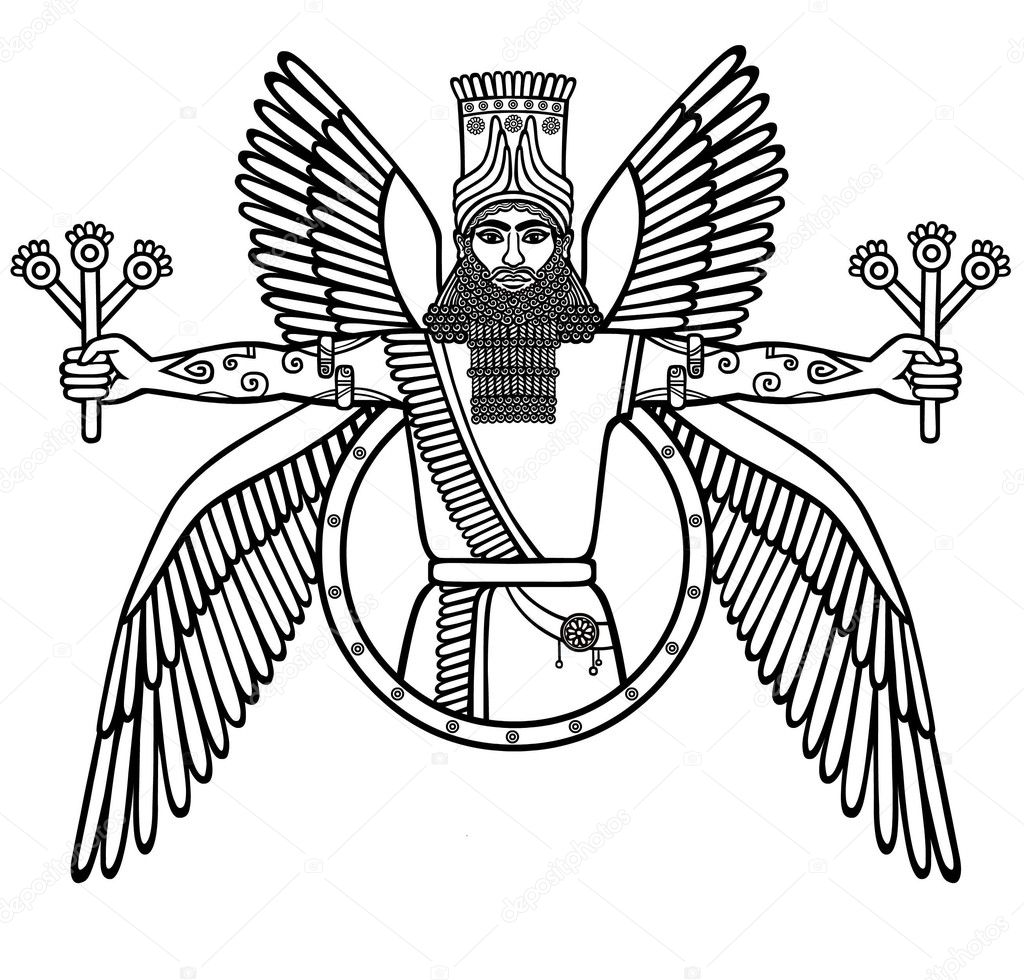 Sumerian Stock Vectors Royalty Free Sumerian Illustrations