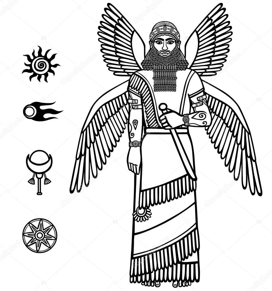 persepolis symbols