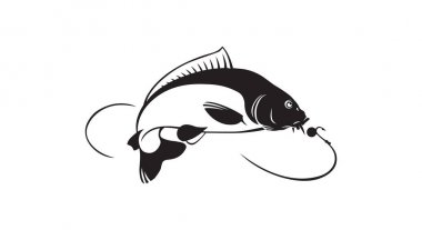 Carp fish for logo