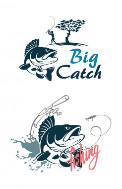 Perch fish for logo
