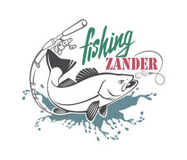 zander fishing icon