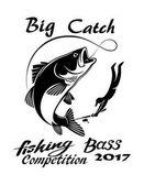 halászati logó sablon