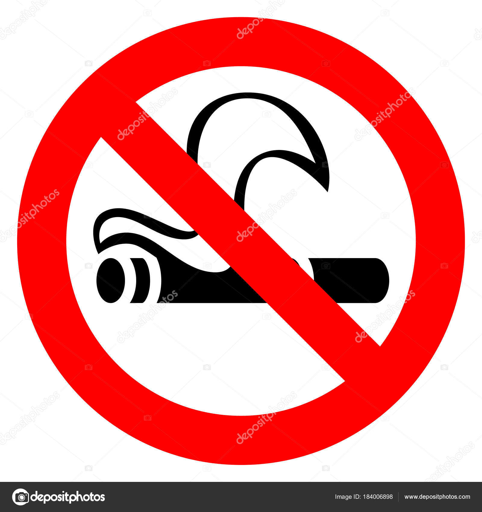No smoking red sign stock vector ecelop 184006898 no smoking red sign stock vector buycottarizona Images