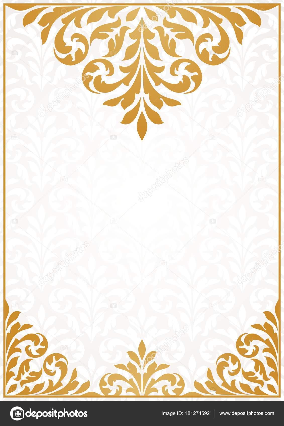 Plantillas Tarjetas Invitacion Vintage Tarjeta De