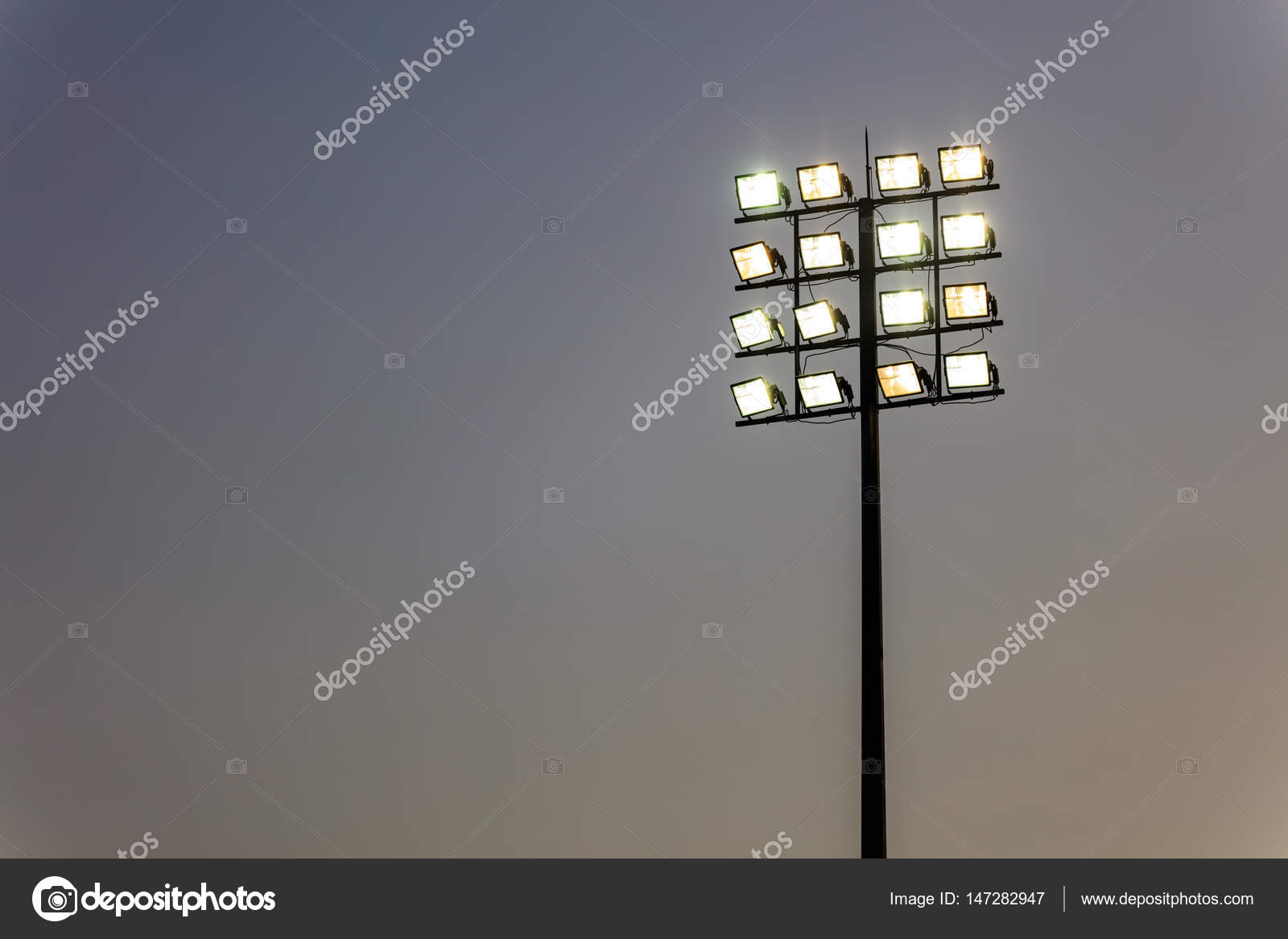 Outdoor stadium lights tower stock photo viperagp 147282947 outdoor stadium lights tower stock photo mozeypictures Image collections