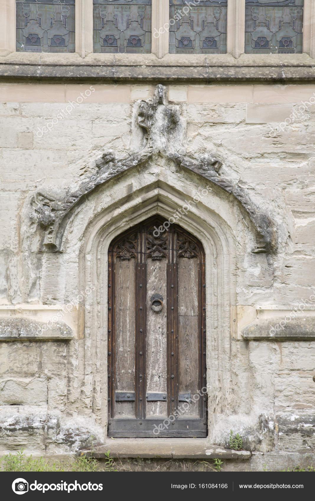 Entrance Door Holy Trinity Church; Stratford Upon Avon; England; UK u2014 Photo by kevers & Entrance Door Holy Trinity Church; Stratford Upon Avon; u2014 Stock ...